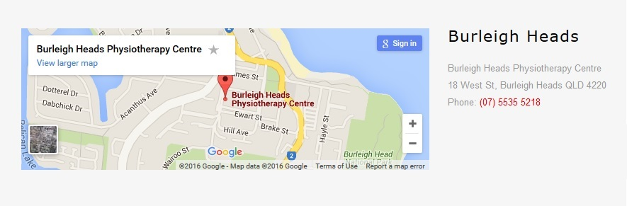 Burleigh Location